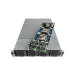 Intel MCB2208WAF4 Intel C612 LGA 2011-v3 2U Silver server barebone