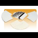 Zebra PVC Translucent PVC, 30mil, Red business card 500 pc(s)
