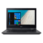 "Acer TravelMate Spin B1 TMB118-RN-C0KG 1.1GHz N3450 11.6"" 1920 x 1080pixels Touchscreen Black Hybrid (2-in-1)"