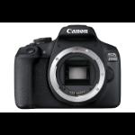 Canon EOS 2000D SLR Black Camera Body Only