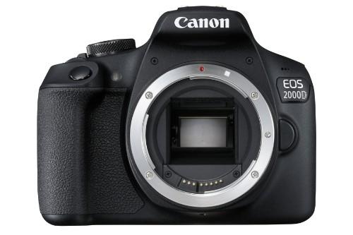 Canon EOS 2000D Body SLR Camera Body 24.1 MP CMOS 6000 x 4000 pixels Black
