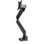 "StarTech.com ARMSLIM2USB3 monitor mount / stand 34"" Clamp Black"