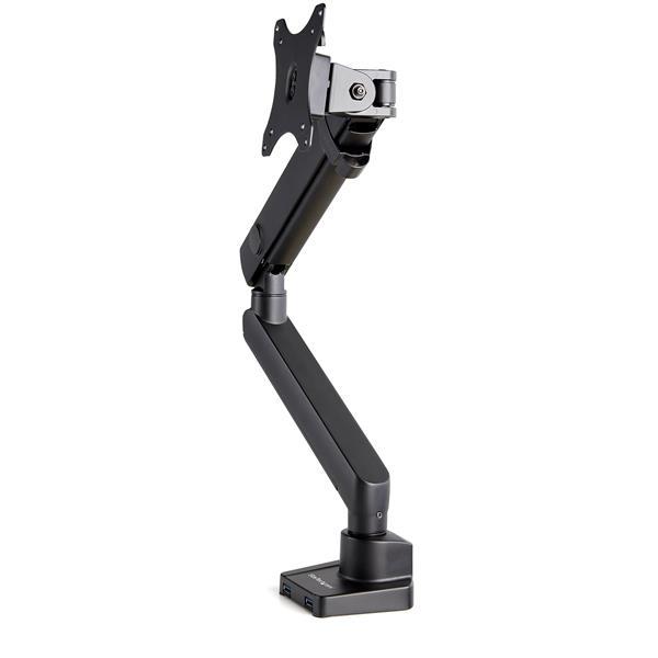"StarTech.com ARMSLIM2USB3 soporte para monitor 86,4 cm (34"") Abrazadera Negro"