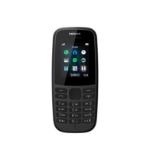 Nokia 105 (2019 edition) 1.77 Inch UK SIM Free Feature Phone (Single SIM) – Black