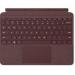 Microsoft Surface Go Signature Type Cover teclado para móvil Español Borgoña