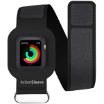 "TwelveSouth ActionSleeve Band For Apple Watch , 40 x 478 mm, Fits arms 27.94 cm (11"") to 43.18 cm (17"") (43cm) Black"
