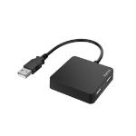 Hama 00200121 interface hub USB 2.0 480 Mbit/s Black