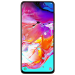 "Samsung Galaxy A70 17 cm (6.7"") 128 GB 4G USB Type-C Coral Android 9.0 4500 mAh"