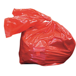 FSMISC LAUNDRY SOLUBLE STRIP BAGS RED 80 LITRE