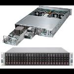 Supermicro SuperServer 2027PR-DTR Intel® C602 LGA 2011 (Socket R) Rack (2U) Black