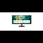 """AOC E2 Q34E2A LED display 86.4 cm (34"""") 2560 x 1080 pixels Full HD+ Black"""
