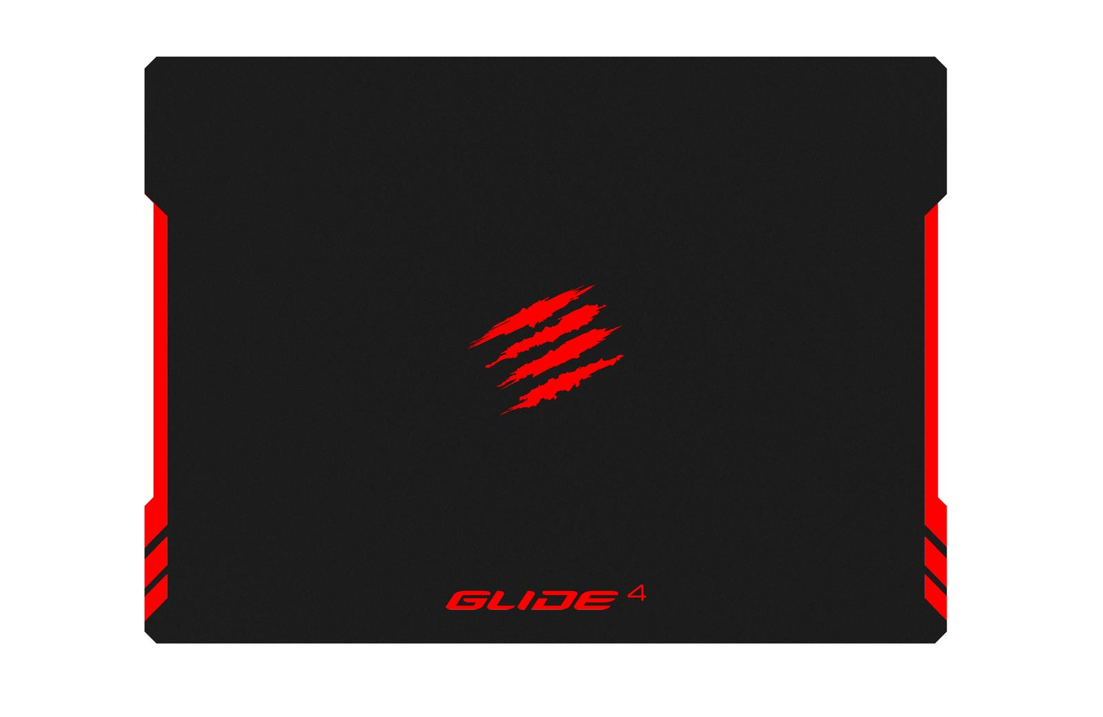 Mad Catz GLIDE 4 Black,Red Gaming mouse pad