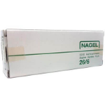 PHE NAGEL STAPLES 26/6 BOX 5000