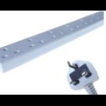 CONNEkT Gear 27-6050 power distribution unit (PDU) White 6 AC outlet(s)