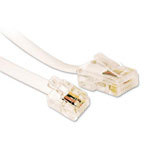 Microconnect MPK451 telephone cable 1 m White