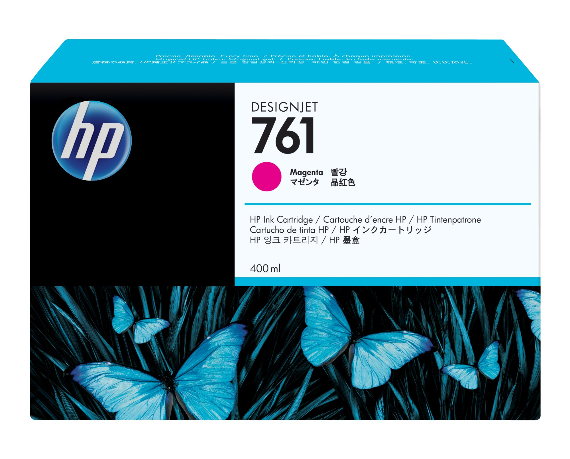HP 761 Origineel Magenta 1 stuk(s)