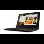 "Lenovo ThinkPad 11e Notebook Black 11.6"" 1366 x 768 pixels Intel® Celeron® 4 GB DDR4-SDRAM 128 GB Flash Windows 10 Pro"