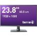 "Wortmann AG TERRA LED 2456W 23.6"" Full HD IPS-ADS Black Flat computer monitor"