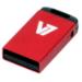 V7 Unidad de memoria flash USB 2.0 nano 8 GB, roja
