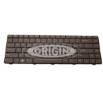 Origin Storage KB-4DP3H Dockingconnector QWERTY US International Zwart toetsenbord