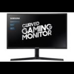 """Samsung C24FG73FQU 59.7 cm (23.5"""") 1920 x 1080 pixels Full HD QLED Black"""