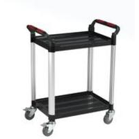 Barton Storage 2 SHELF STD PLASTIC TROLLEY