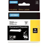 DYMO 12mm RHINO Permanent Polyester D1 label-making tape