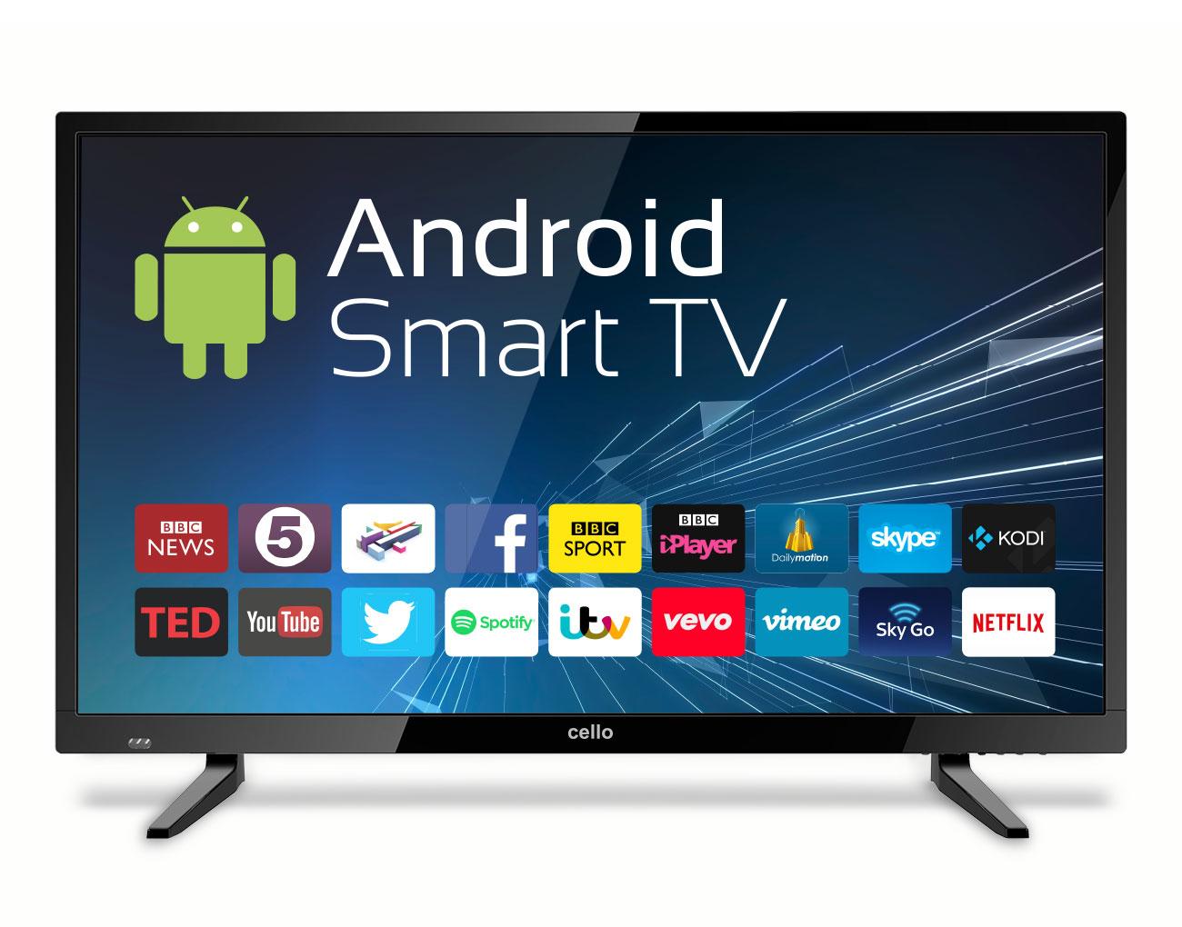 buy cello c32ansmt 32 hd smart tv wi fi black led tv c32ansmt online from. Black Bedroom Furniture Sets. Home Design Ideas