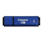 Kingston Technology DataTraveler Vault Privacy 3.0 Anti-Virus 4GB USB flash drive USB Type-A 3.0 (3.1 Gen 1) Blauw