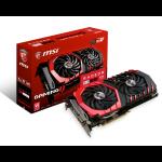 MSI Radeon RX 480 GAMING X 4G Radeon RX 480 4GB GDDR5 graphics card