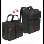 "Mobilis 005026 notebook case 40.6 cm (16"") Briefcase Black,Red"