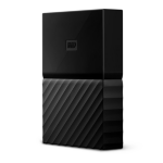 Western Digital My Passport for Mac external hard drive 1000 GB Black