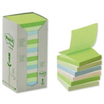 Post-It Notes Pad Tower Pack Pastel Rainbow (Pack 16) self-adhesive label