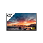 """Sony FWD-65X80H/T signage display 163.8 cm (64.5"""") IPS 4K Ultra HD Digital signage flat panel Black Built-in processor Android 9.0"""