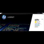 HP LaserJet 659X Origineel Geel 1 stuk(s)