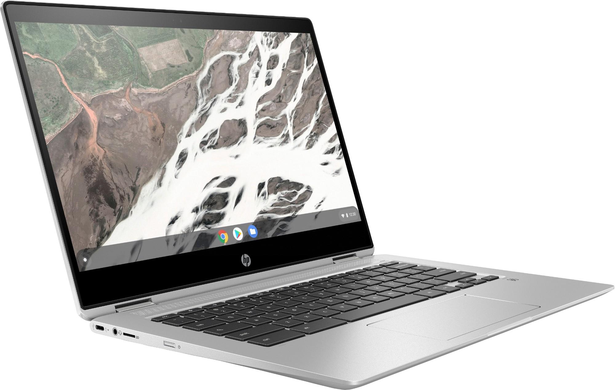 HP Chromebook x360 14 G1 Silver 35 6 cm (14