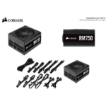 Corsair 750W RM 80+ Gold Fully Modular 135mm FAN ATX Power Supply, PSU, 10 Years Warranty