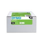 DYMO 2093097 DirectLabel-etikettes, 12mm x 7m, Pack qty 10