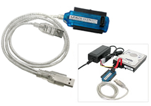 USB 2.0 To SATA & Ide Drive Adapter