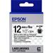 Epson C53S654012 (LK-4TBN) Ribbon, 12mm x 9m