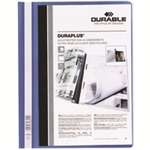 Durable DURAPLUS® report cover Blue
