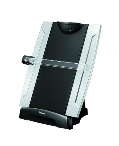 Fellowes 8033201 Plastic Black,Silver document holder