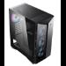 MSI MPG GUNGNIR 110R Mid Tower Gaming Black, USB 3.2 Gen2 Type C, 4x 120mm ARGB Fan, Mystic Light Sync, 1 to 6 ARGB Control board, 2x Tempered Glass Panels, ATX, mATX, mini-ITX