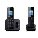 Panasonic KX-TGH223E DECT telephone Black Caller ID