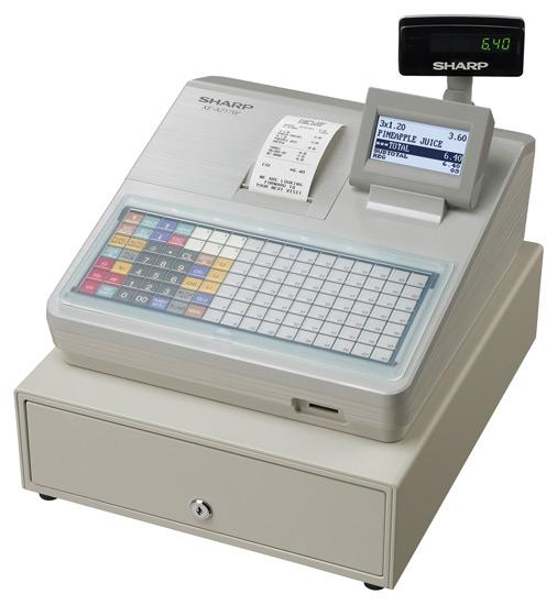 Sharp XE-A217W LCD cash register