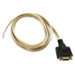 APG Cash Drawer 21038-030 serial cable White 3 m DB9 RJ12