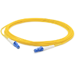 "AddOn Networks ADD-LC-LC-5MS9SMF fiber optic cable 196.9"" (5 m) Yellow"