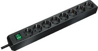 Brennenstuhl 1159300018 power extension 3 m 8 AC outlet(s) Black