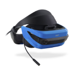 Acer AH100 Dedicated head mounted display Black, Blue 350 g