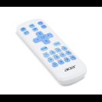 Acer MC.JQ011.005 Fernbedienung IR Wireless Weiß Drucktasten